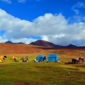 Gangpoche campsite.