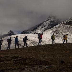 Climb to Kalapatthar .