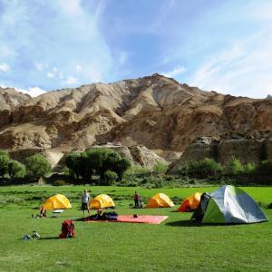Hankar Campsite in the Markha Valley