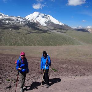 Initial climb from Nimaling towards Kongmaru la