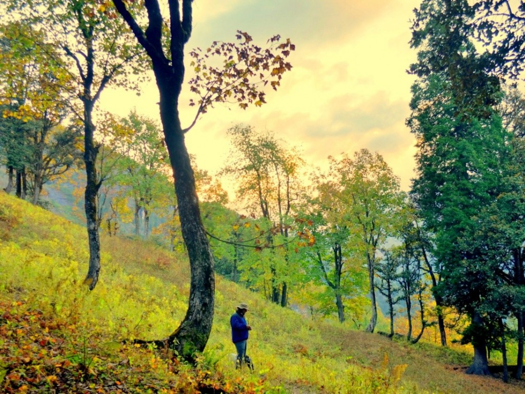 bara banghal trek photo essay whitemagic beautiful fall colours near riyali thatch campsite